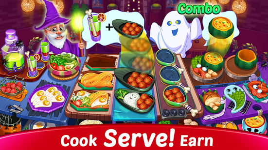 Halloween Cooking : New Restaurant & Cooking Games Screenshot