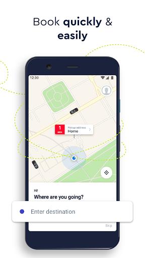 FREE NOW (mytaxi) - Taxi Booking App Apkfinish screenshots 3