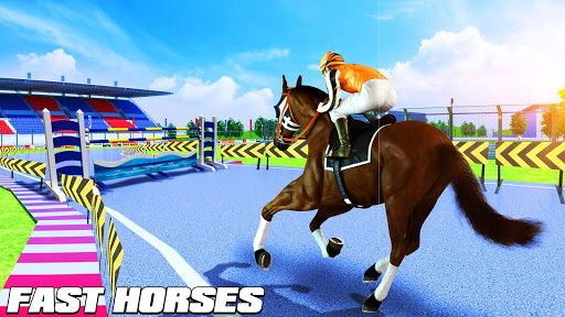 Horse Riding Simulator 3D : Jockey Mobile Game 1.4 screenshots 9