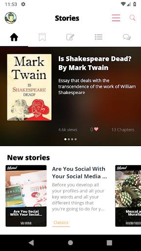 Inkspired - Read free books and stories 3.4.10 screenshots 2