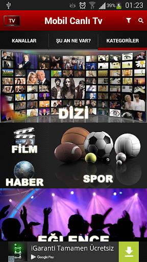 Mobil Canlu0131 Tv  Screenshots 4