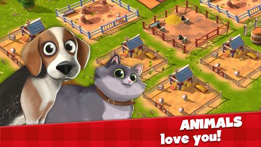 Happy Town Farm Games - Farming & City Building  screenshots 5