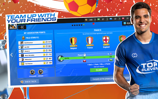 Foto do Top Eleven 2021: Be a Soccer Manager