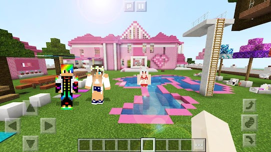 Free Barbie Skin amp  Maps House For MINECRAFT PE Apk Download 2021 5