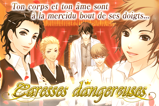 Code Triche Caresses dangereuses: jeux d'amour Otome games (Astuce) APK MOD screenshots 3