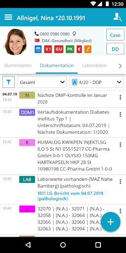 medatixx mobile  screenshots 1