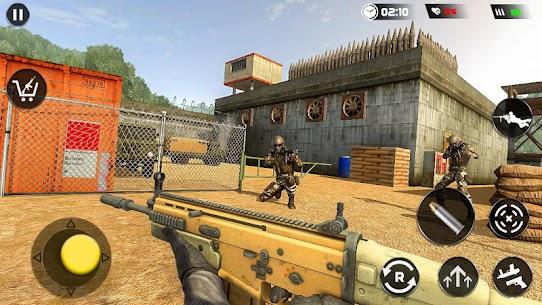 Real Commando Secret Mission: Army Shooting Mod Apk (God Mode) 1