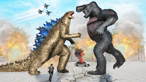 Angry Dinosaur Attack Dinosaur Rampage Games android2mod screenshots 6