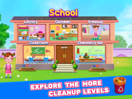 Keep Your City Clean - City Cleaning Game  screenshots 1