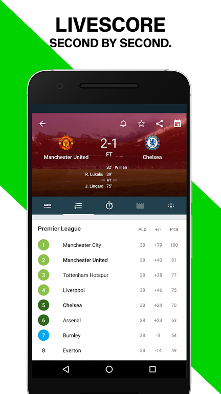 Forza Football - Live soccer scores  poster 0