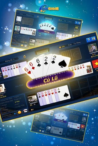 Ongame Su00e1m cu00f4 - Xu00ec tu1ed1 Poker 7 lu00e1 4.0.3.8 screenshots 5
