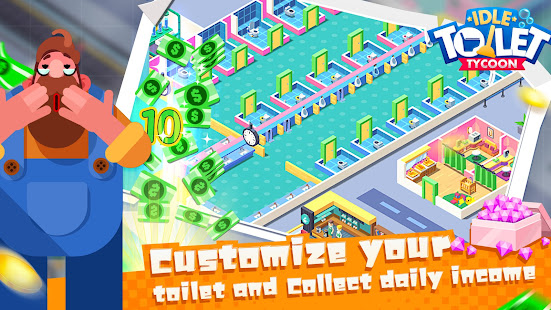 Toilet Empire Tycoon - Idle Management Game 1.0 APK + Mod (Unlimited money) para Android