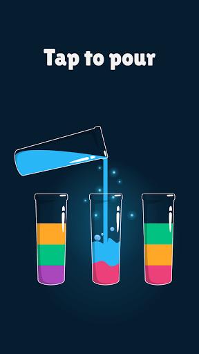 Cups - Water Sort Puzzle  screenshots 1