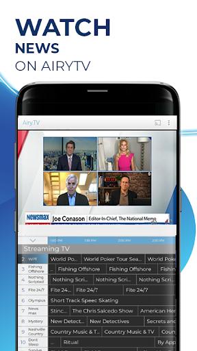 Free TV, Free Movies, Entertainment, AiryTV 2.10.6gcR Screenshots 2