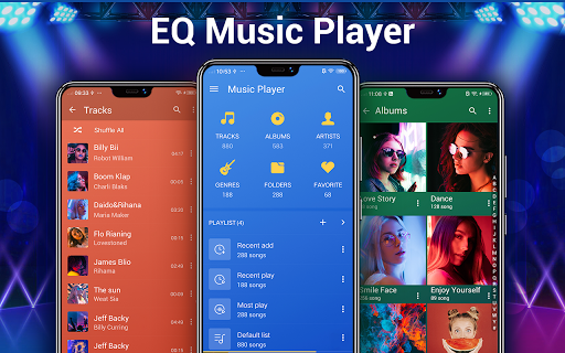 Music Player - 10 Bands Equalizer Audio Player 1.6.3 Screenshots 9