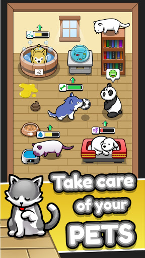Pet Idle modiapk screenshots 1