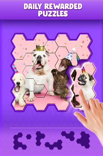 Hexa World Jigsaw - Free Puzzle Quest screenshots 1