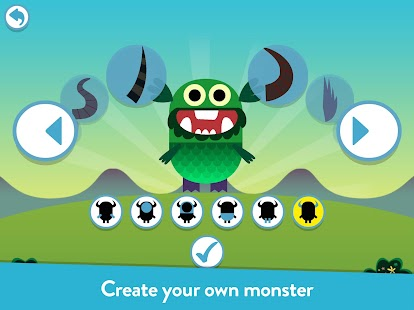 Teach Your Monster to Read: Phonics & Reading Game Screenshot