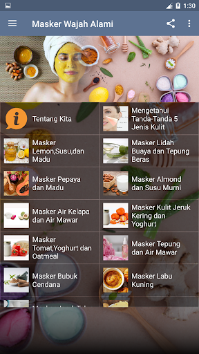 tips masker perawatan wajah bahan alami screenshot 3