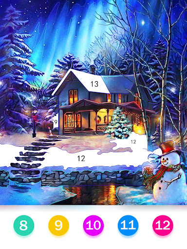 Color by Number - Happy Paint 2.4.3 screenshots 14