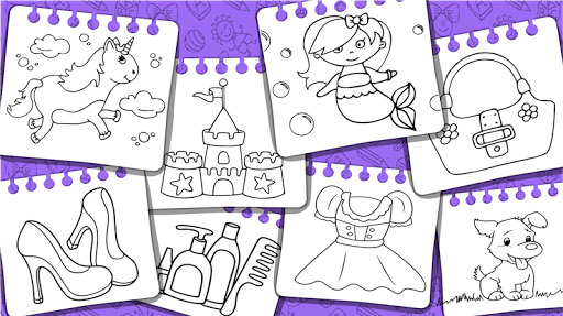 Princess Coloring Book & Games 1.44 screenshots 24