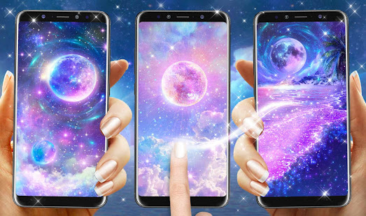Color Galaxy Live Wallpapers