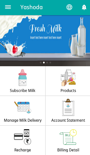 yashoda milk screenshot 2