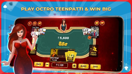 Teen Patti by Octro - Real 3 Patti Game 15.8