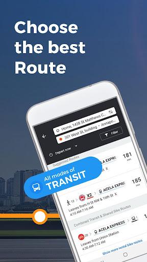Moovit: All Local Transit & Mobility Options  Screenshots 2