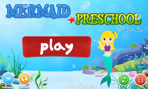 Mermaid Preschool Lessons apkmartins screenshots 1