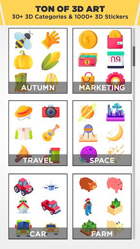 3D Logo Maker: Create 3D Logo and 3D Design Free 1.2.8 Screenshots 4