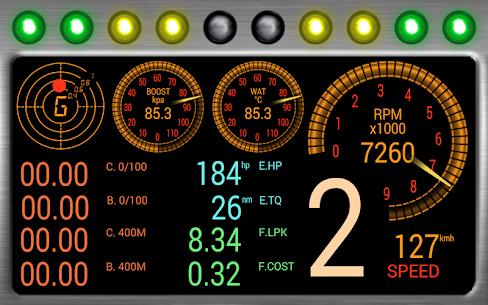 RacingMeter for Torque Pro APK 3