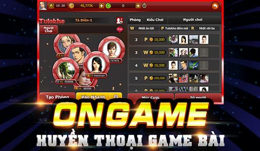 Ongame Tú Lơ Khơ (game bài) 4.0.3.7 screenshots 1