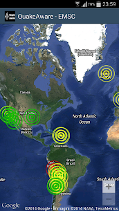 QuakeAware Earthquakes Near Me For Pc – Free Download On Windows 7, 8, 10 And Mac 3