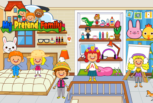 My Pretend Home & Family - Kids Play Town Games! 2.7 Screenshots 7