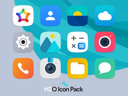 H2O Free Icon Pack  screenshots 1