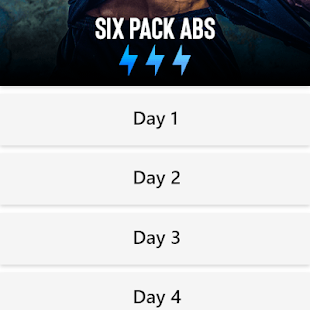 Six Pack in 30 Days - Abs Workout Lose Belly fat Screenshot