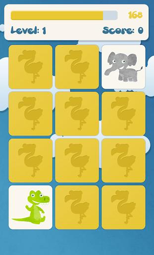 Animals memory game for kids  screenshots 3