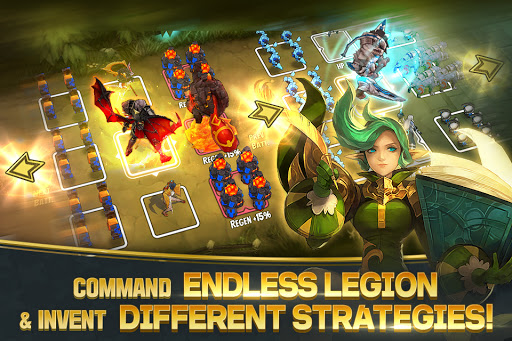 Legion Master - IDLE, RPG, Strategy, War game  screenshots 2