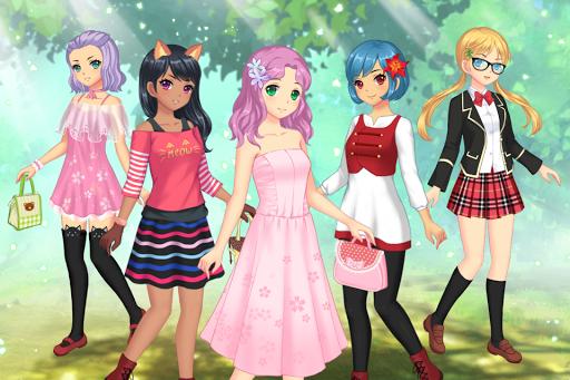 Anime Dress Up - Games For Girls 1.1.9 Screenshots 1
