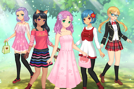 Anime Dress Up  For Pc – Free Download For Windows 7, 8, 8.1, 10 And Mac 1