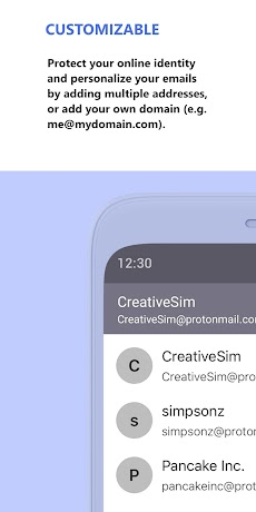 ProtonMail - Encrypted Emailのおすすめ画像5