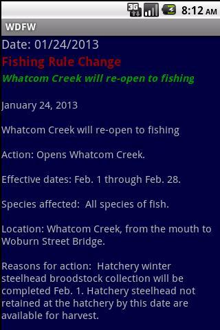 wdfw-wa fish/wildlife notices screenshot 2