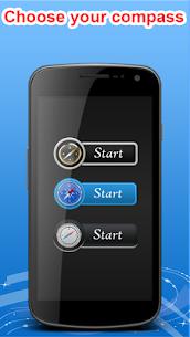 Smart Compass Sensor for Android Digital Compass 44.0 Mod + Apk (New Version) 1