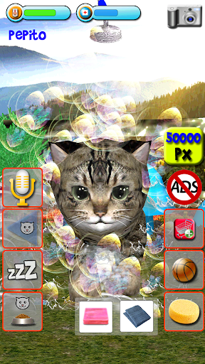Talking Kittens virtual cat that speaks, take care 0.6.7 screenshots 6