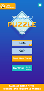 Sudoku – Classic  16×16 Puzzle Game Apk Download NEW 2021 1