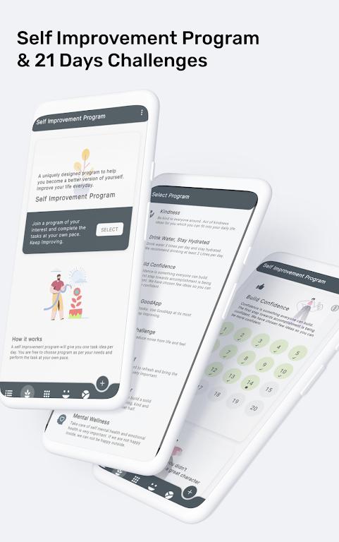 Good App, Self Improvement & Personal Growth app  poster 2