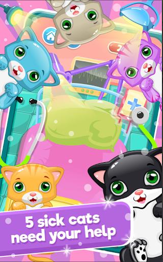 Little Cat Doctor Pet Vet Game screenshots 3