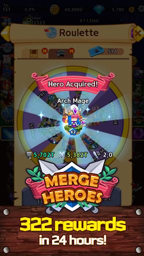 Merge Heroes Frontier: Casual RPG Online 3.3.0 screenshots 19
