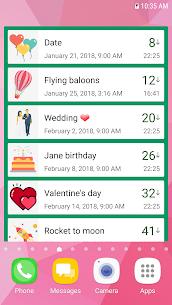 Countdown Days App & Widget MOD APK (Premium Unlocked) 4